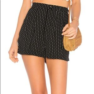 Free People Magdalene Pleated Short in Black